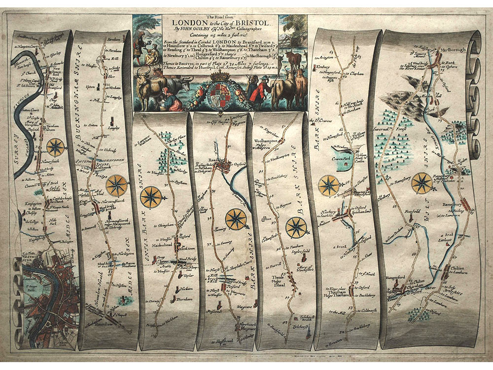 4_3resized_John_Ogilby_-_The_Road_from_London_to_the_City_of_Bristol_(1675)